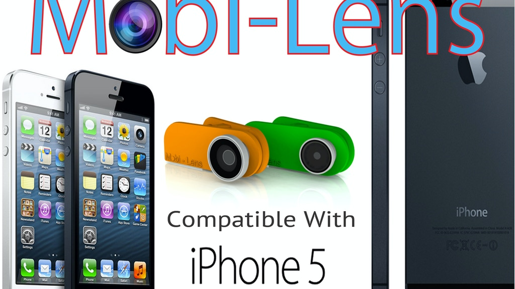 Mobi-Lens:Universal fit for iPhone, Androids, tablets & more project video thumbnail