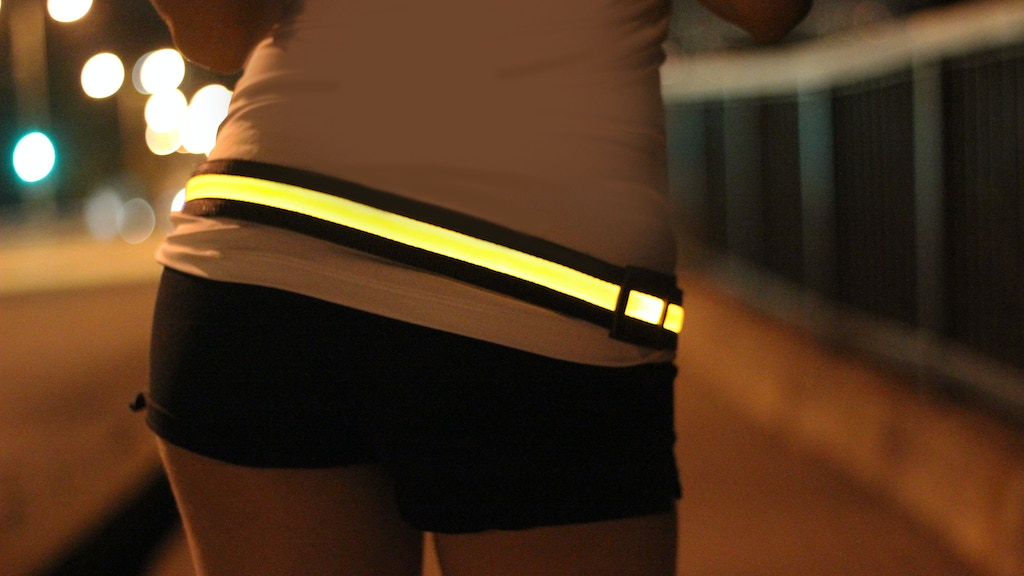 HALO - BRIGHT LED BELT - BE SEEN, BE SAFE project video thumbnail