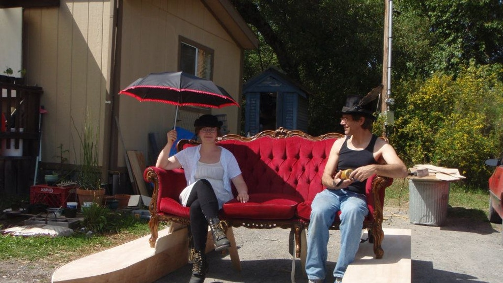 The Amphibious Red Couch project video thumbnail