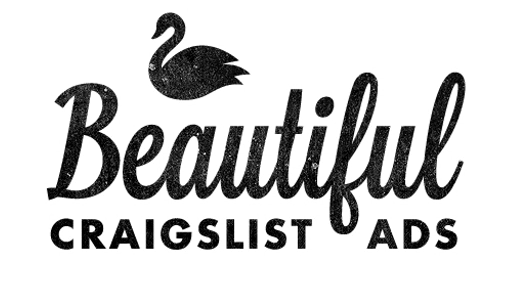 Beautiful Craigslist Ads project video thumbnail
