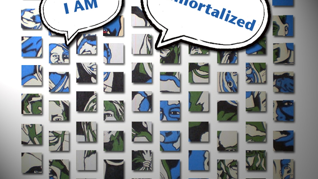 I Am Immortalized - Portrait Installation Project project video thumbnail