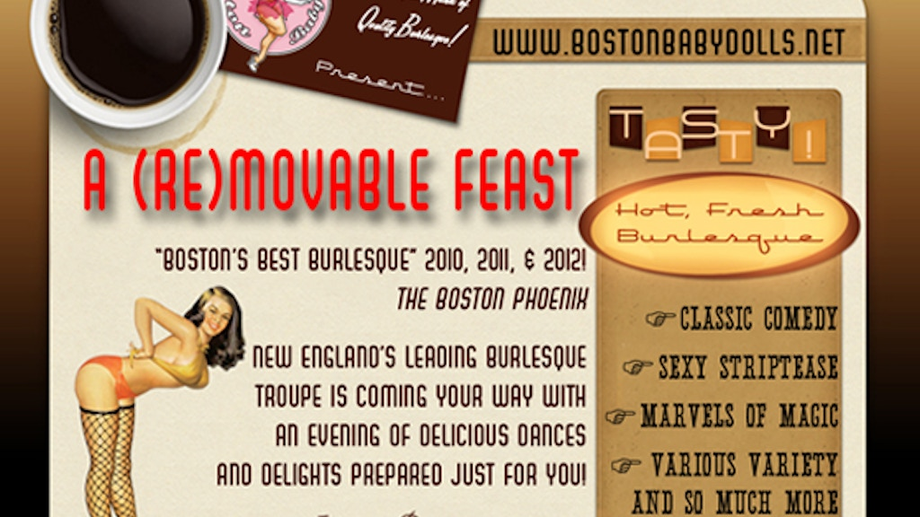 Get The Boston Babydolls Burlesque Troupe on the Road! project video thumbnail