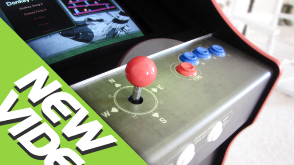 Build Your Own Arcade project video thumbnail