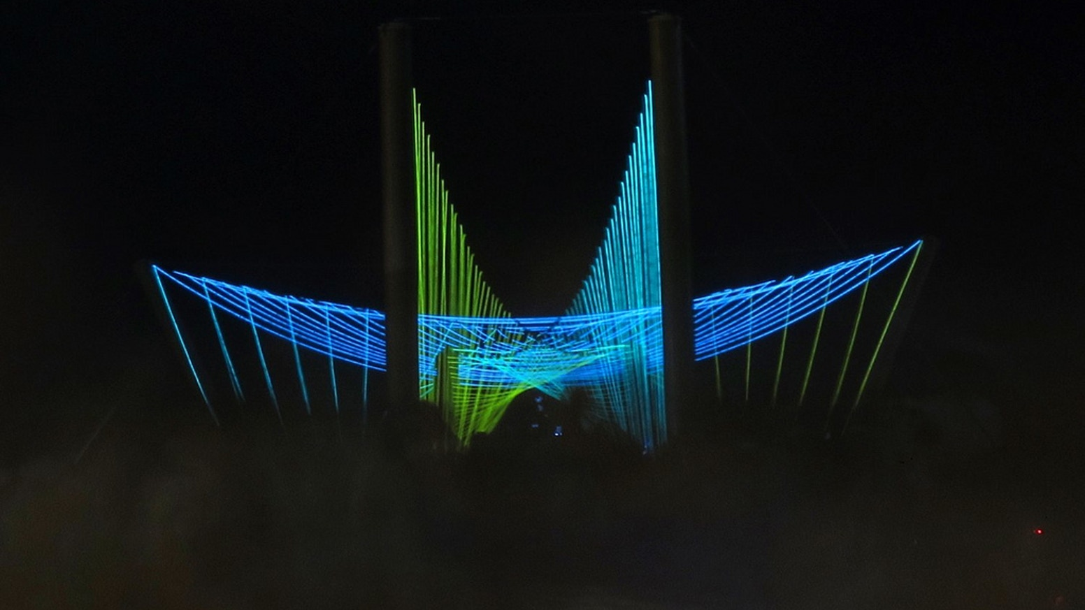 Luminous Passage 2.0 for Burning Man 2012 by Marc Anderson and Jason ...