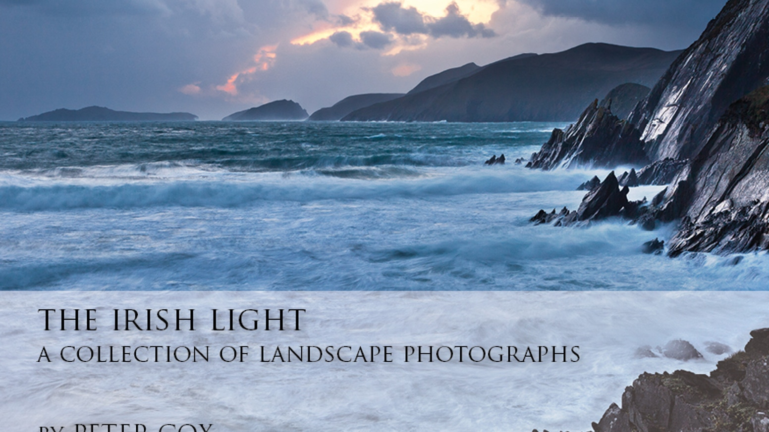 A collection of more than 80 stunning photographs of the Irish landscape, beautifully presented in a 112 page, hardcover book.