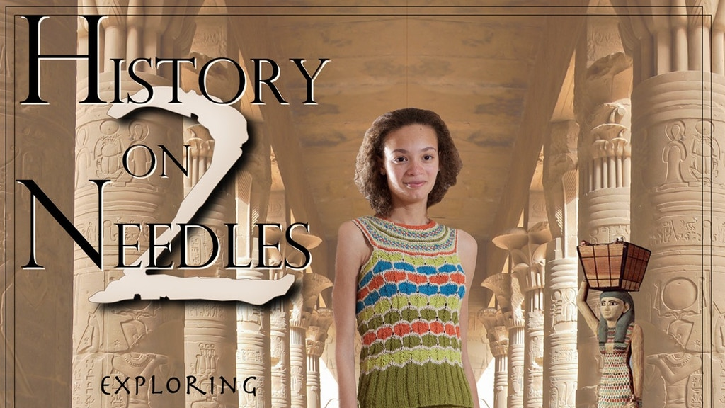 History on Two Needles Knitting Book project video thumbnail