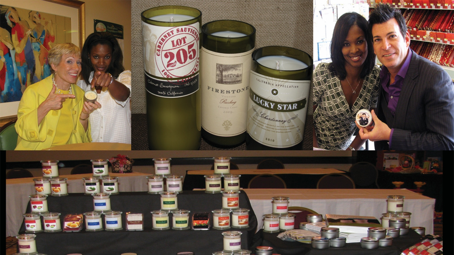 American Made Soy Candles in Recyclable Containers by Jameel Nolan