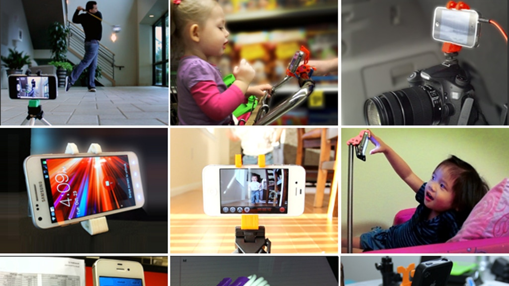 MilliMount your smartphone for millions of uses! project video thumbnail