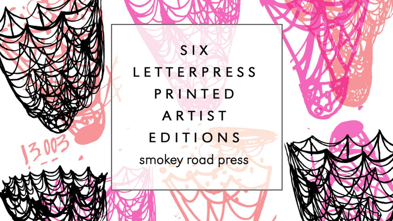 six letterpress printed artist editions by smokey road press by