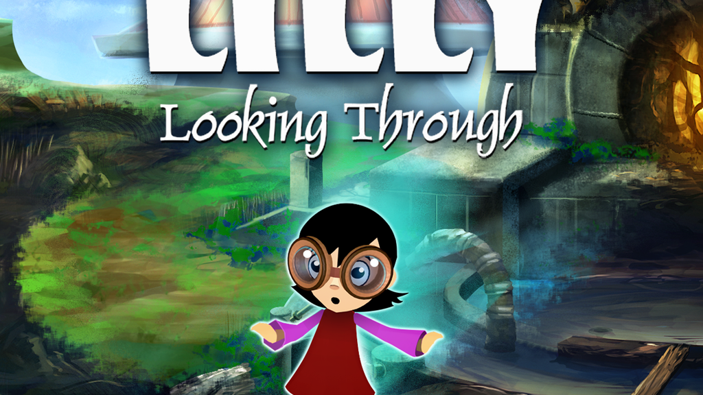 Lilly Looking Through: An animated adventure game project video thumbnail