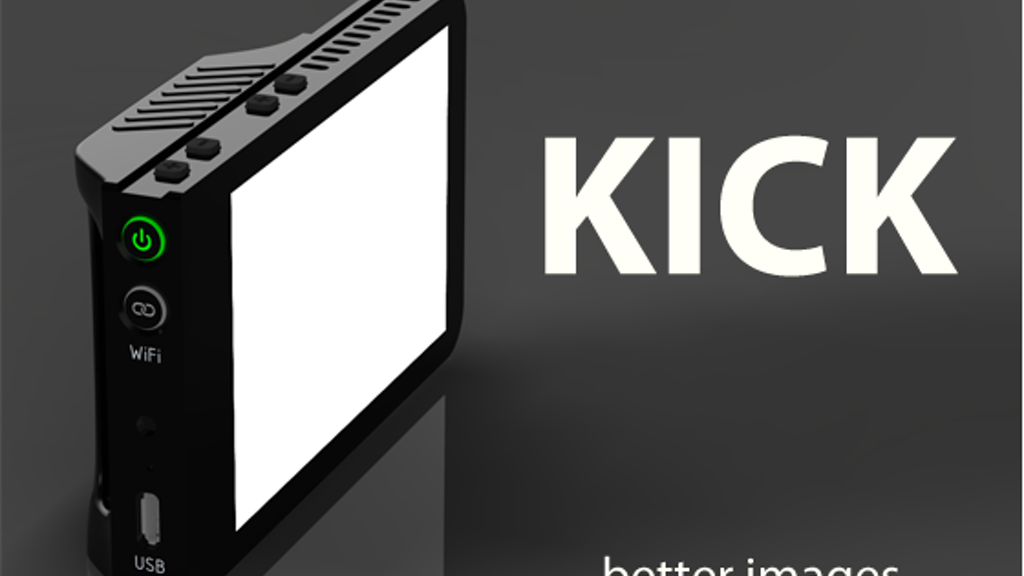 The Kick - a pocket sized lighting studio for photo & video project video thumbnail