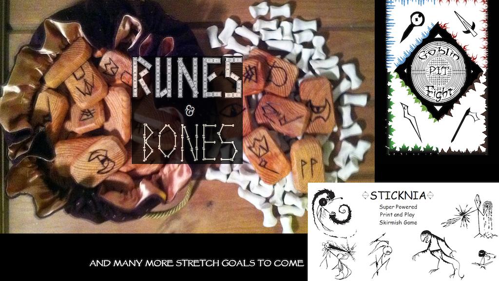 Runes & Bones Edition Zero project video thumbnail