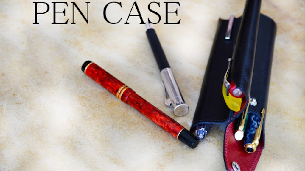 The Perfect Pen Case for the Pen Obsessed project video thumbnail