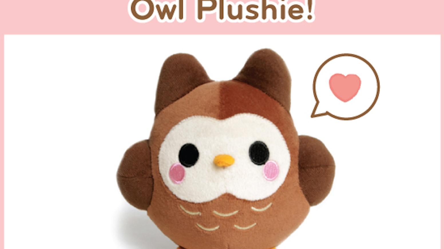 Oborocharms Kawaii Owl Plushie By Kim Rountree Kickstarter