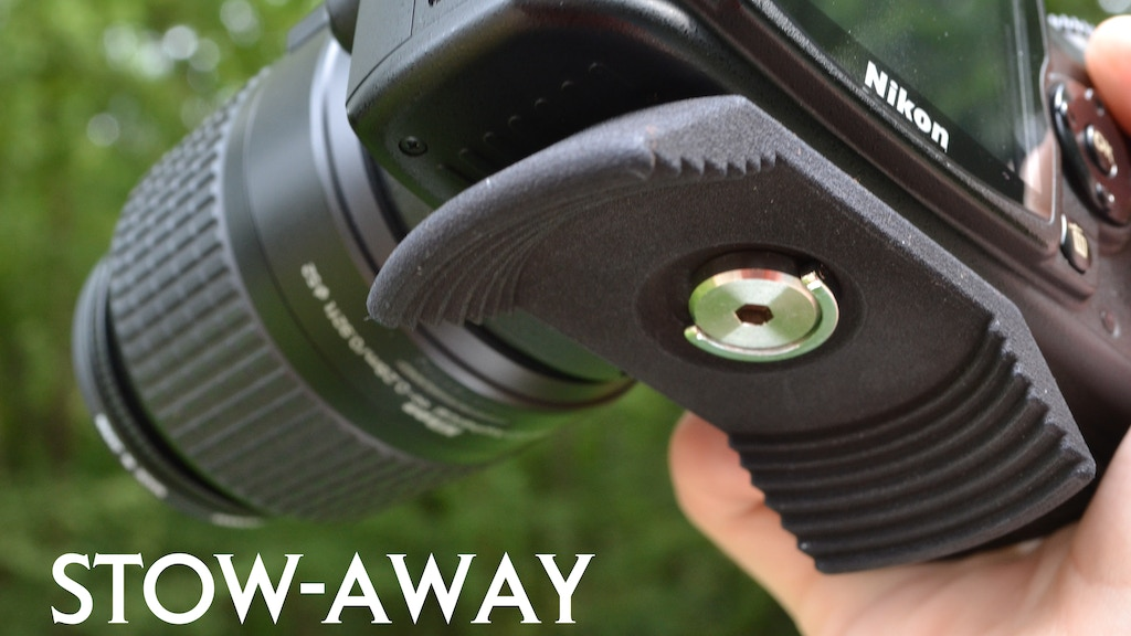 Stow-Away Lens Cap Holder for your SLR camera! project video thumbnail