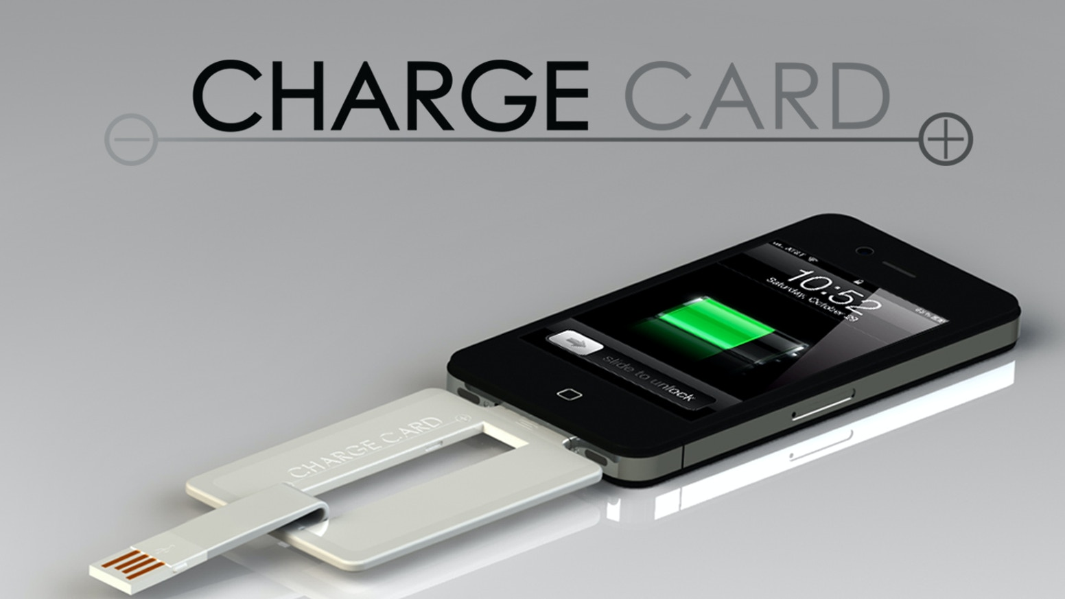 ChargeCard is a USB cable that's thin enough to fit easily into your wallet, purse or pocket. Visit us at www.hellonomad.com
