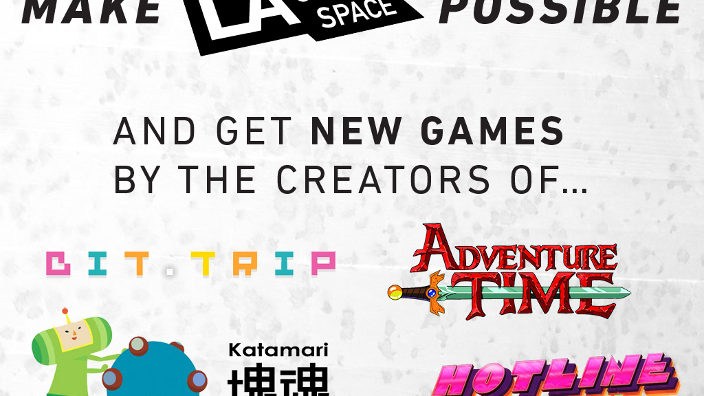 Make LA Game Space possible—Best Game Bundle Ever for $15! project video thumbnail