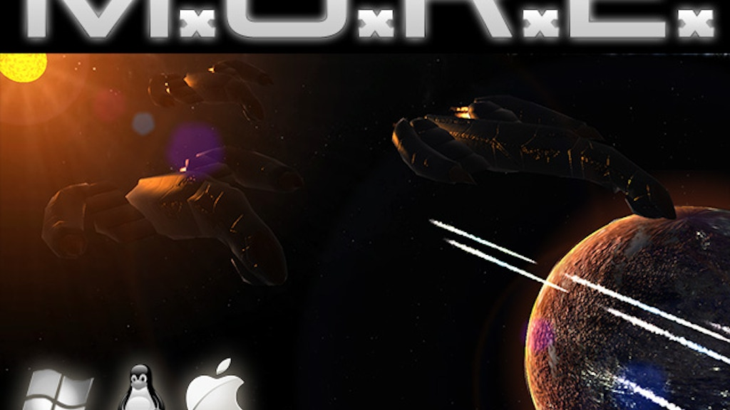 M.O.R.E. - old school turn-based 4X space strategy game. project video thumbnail