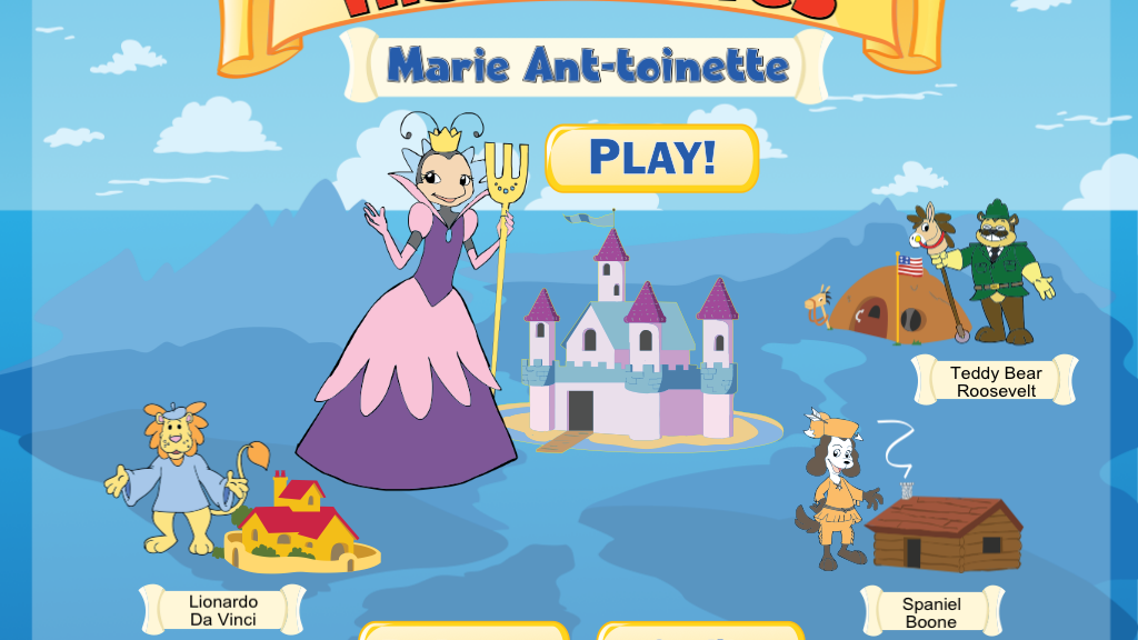 Historables: Marie Ant-toinette  -- App for iPad & Android project video thumbnail
