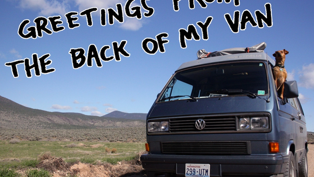 Greetings from the Back of My Van project video thumbnail