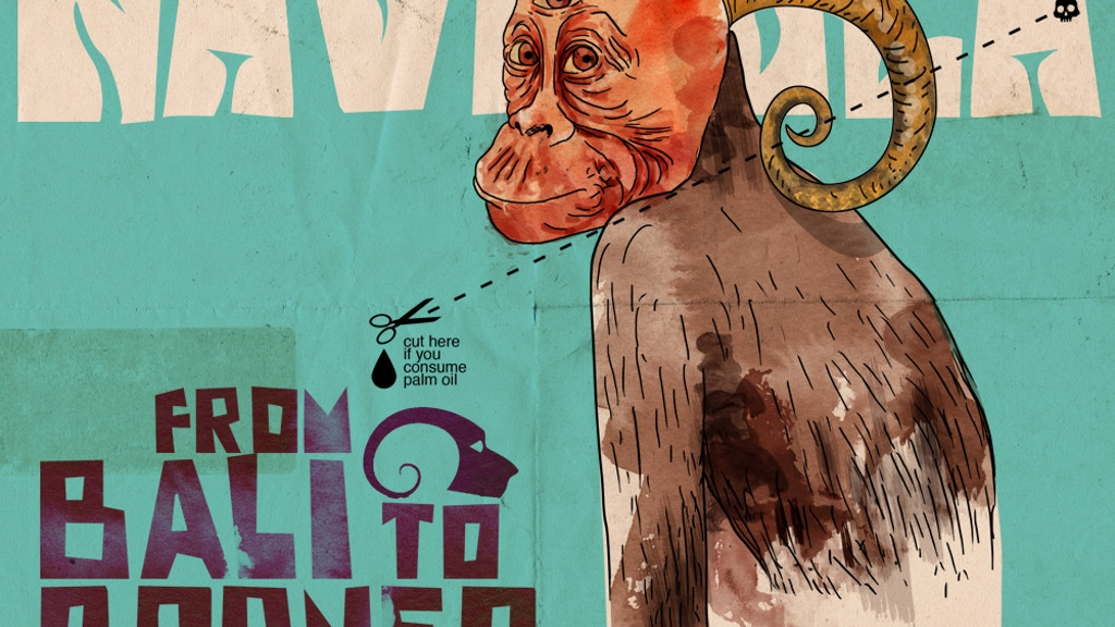 Golden Green Grunge for Rare Red Apes: Navicula Borneo Tour project video thumbnail