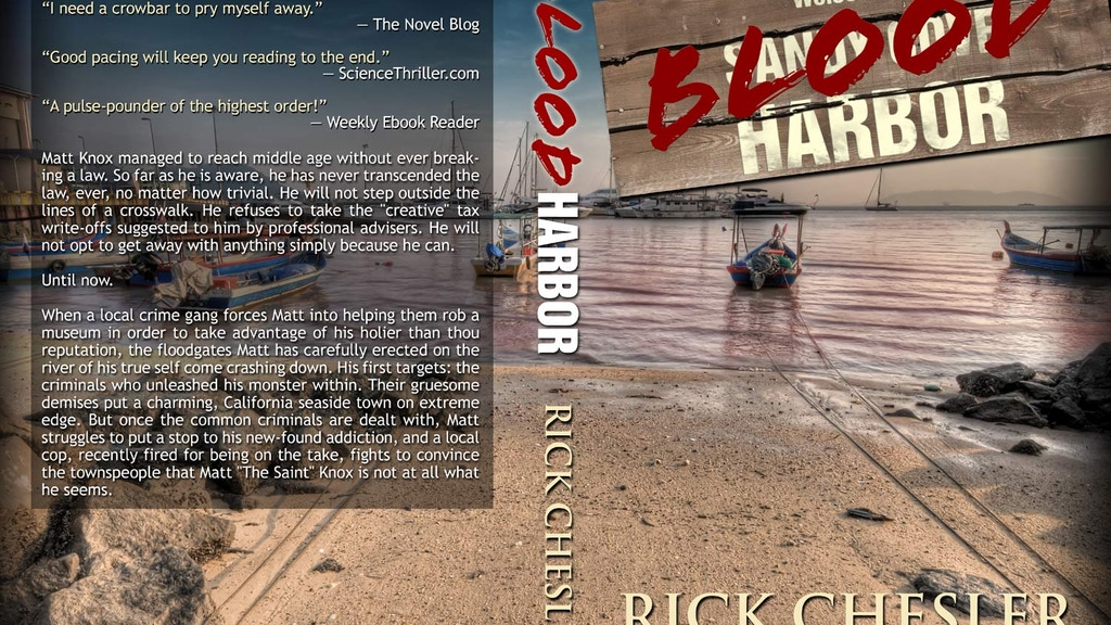 BLOOD HARBOR: A Novel of Suspense project video thumbnail