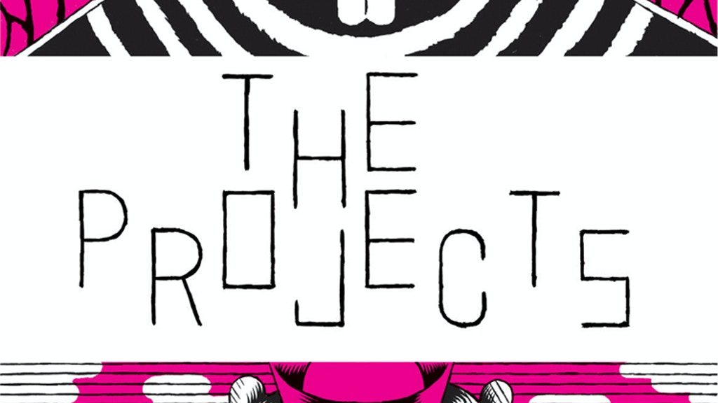 THE PROJECTS: experimental art + comics festival in Portland project video thumbnail