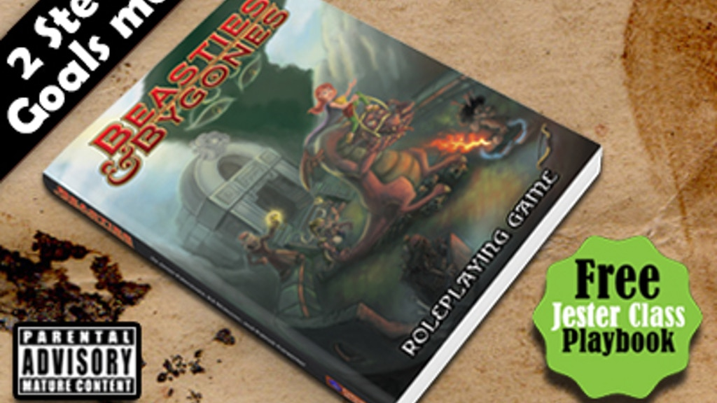 Beasties & Bygones: Parody RPG - Dungeon World & 3.5 OGL project video thumbnail