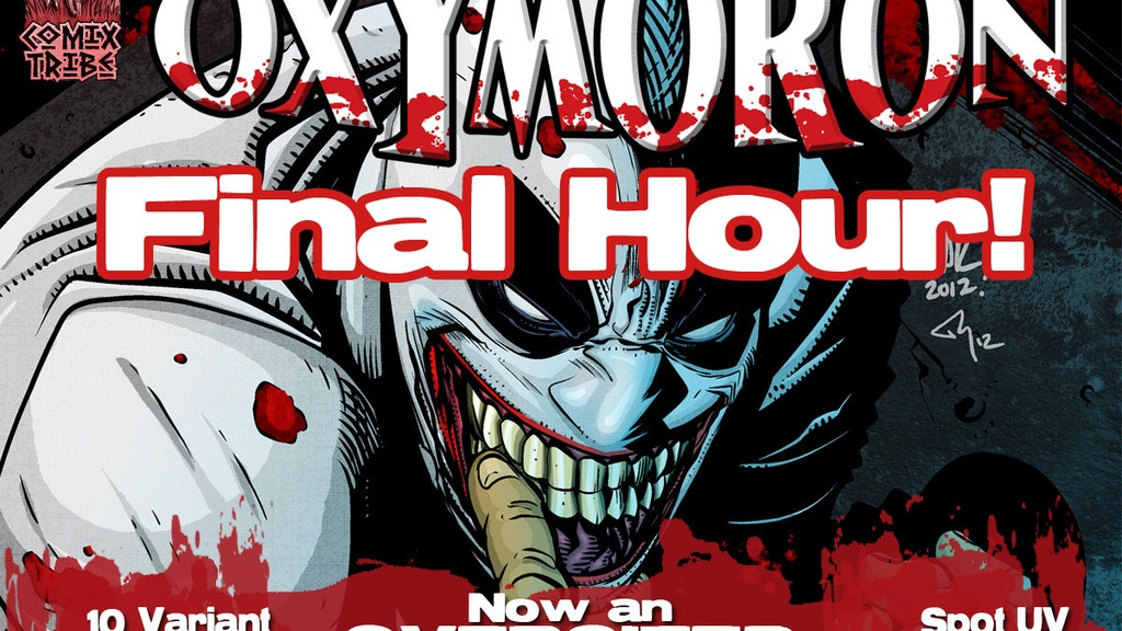 OXYMORON Hardcover Graphic Novel project video thumbnail