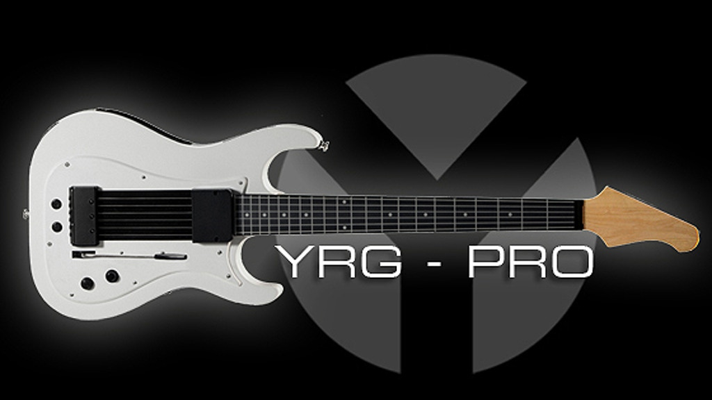 YRG-Pro: Professional Grade MIDI Guitar project video thumbnail
