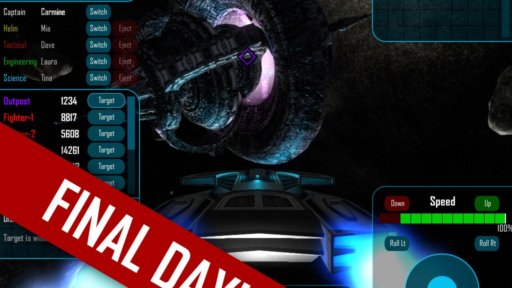 Quintet - a Multiplayer, Multiplatform Sci-fi Space Game project video thumbnail