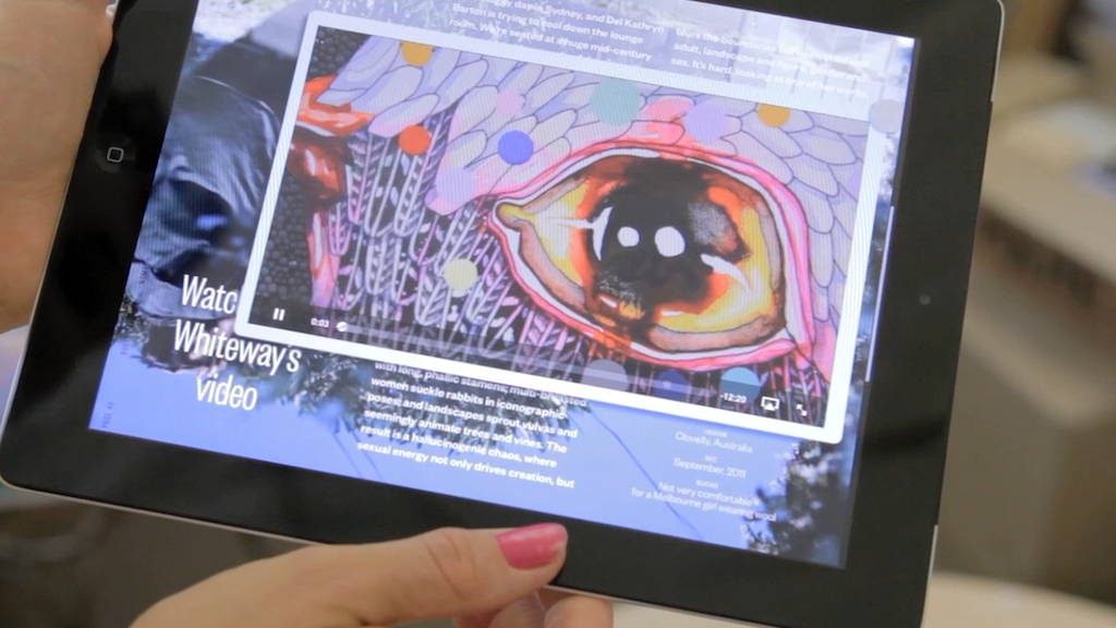 Dumbo Feather Magazine - the iPad App! project video thumbnail
