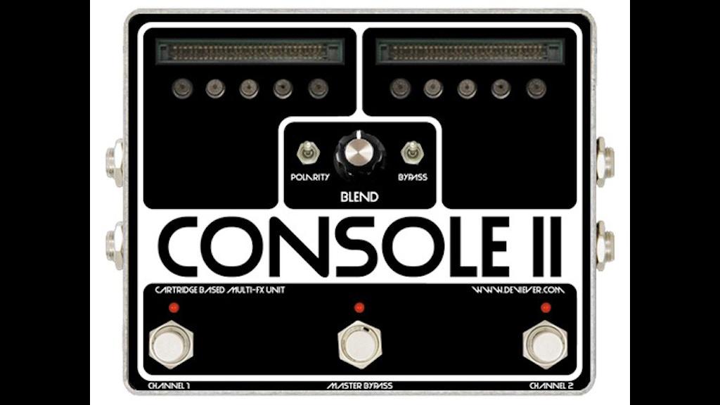console open source cartridge based fx platform for guitar by devi ever kickstarter. Black Bedroom Furniture Sets. Home Design Ideas