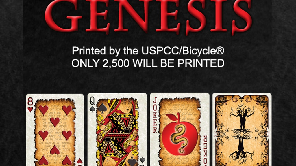 Genesis Series, Bicycle® Playing Cards by TPX Designs project video thumbnail