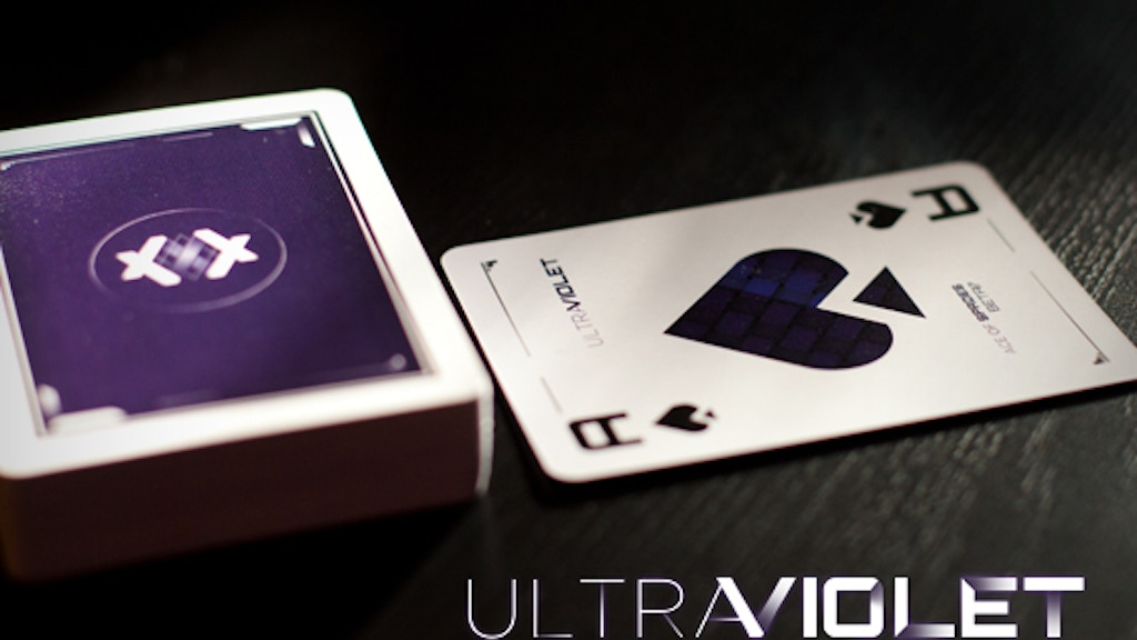ULTRAVIOLET // Playing cards from beta17 project video thumbnail