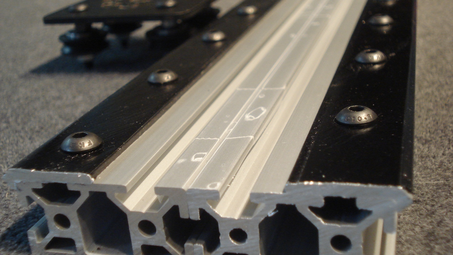 OpenBuilds Open Rail is a new open source universal linear rail system designed to be used with various T- Slot aluminum extrusion configurations.