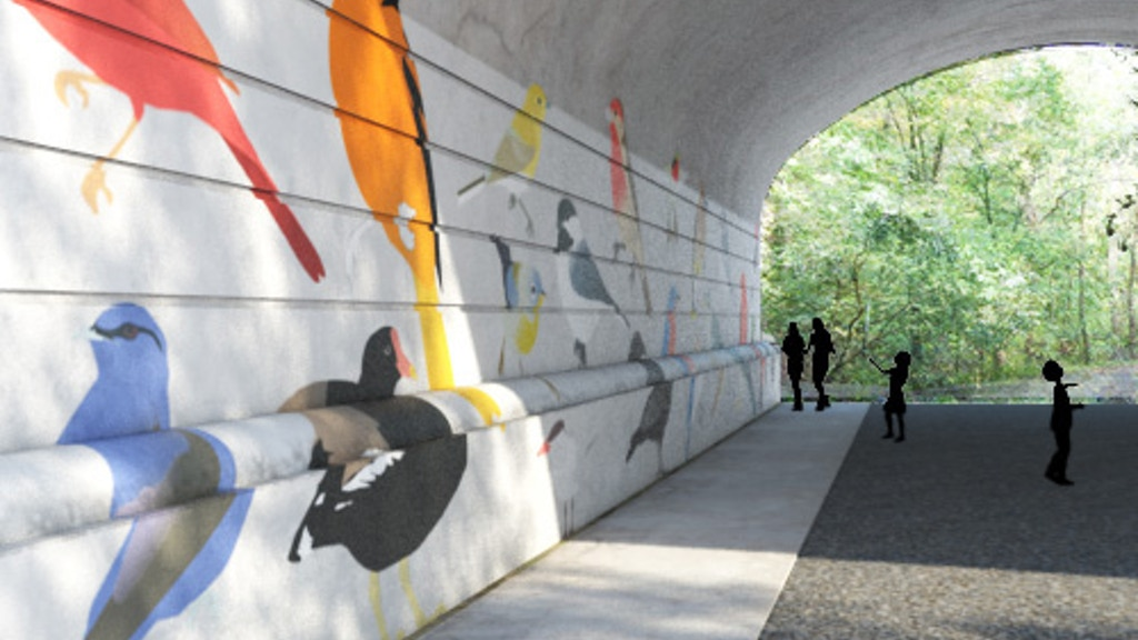 Ohio Birds Mural project video thumbnail