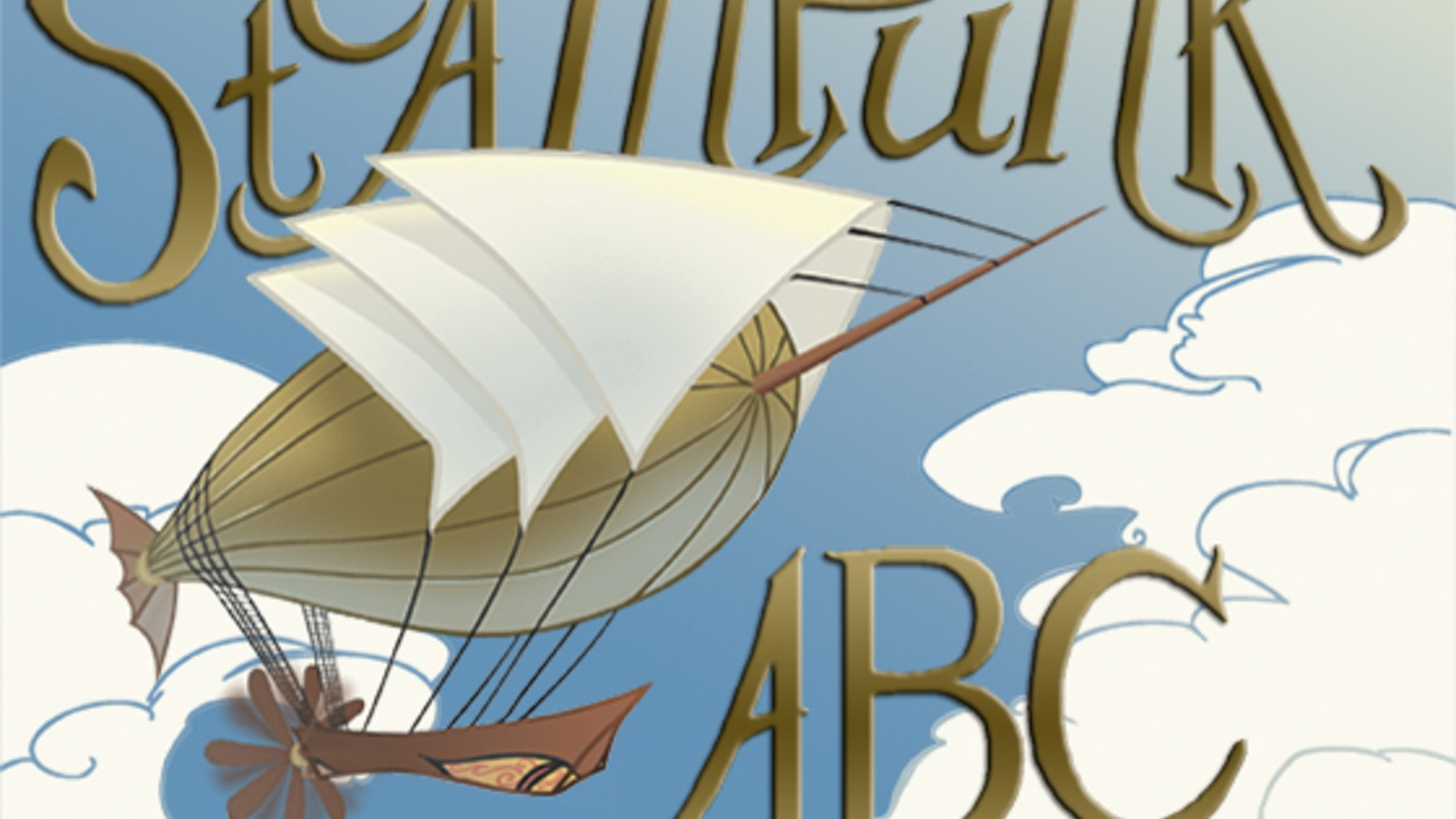 An alphabet book for girls and boys in the glorious Victorian Era that could have been.