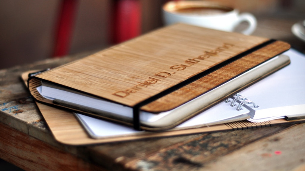 Panda Pad: A beautiful bamboo notebook, designed sustainably project video thumbnail