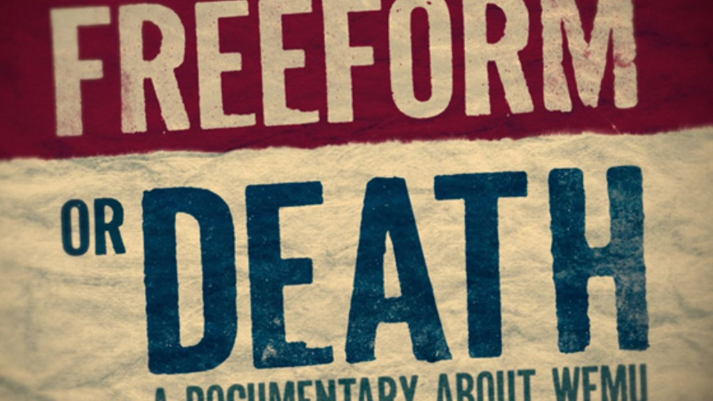 FREEFORM OR DEATH, a documentary about WFMU project video thumbnail
