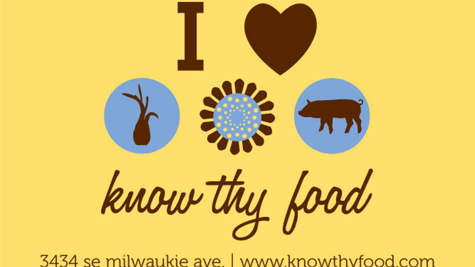 Know Thy Food Let's Open a Local and Organic Food Market by ...