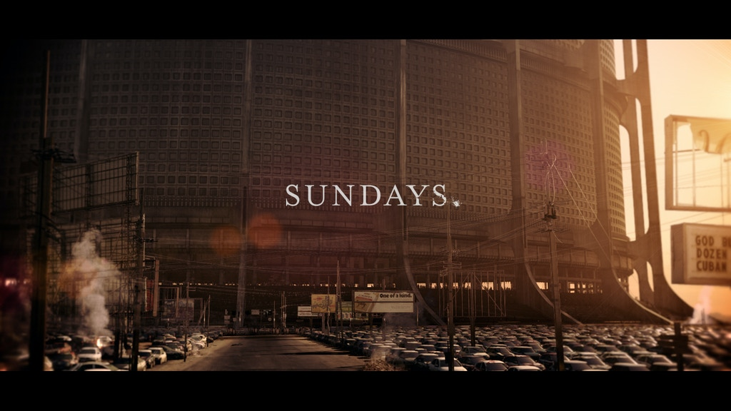 Sundays. A film about our future. project video thumbnail
