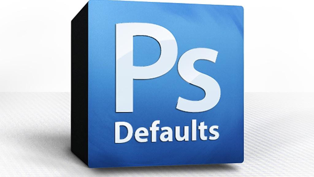 PsDefaults: Better Presets for Adobe Photoshop project video thumbnail