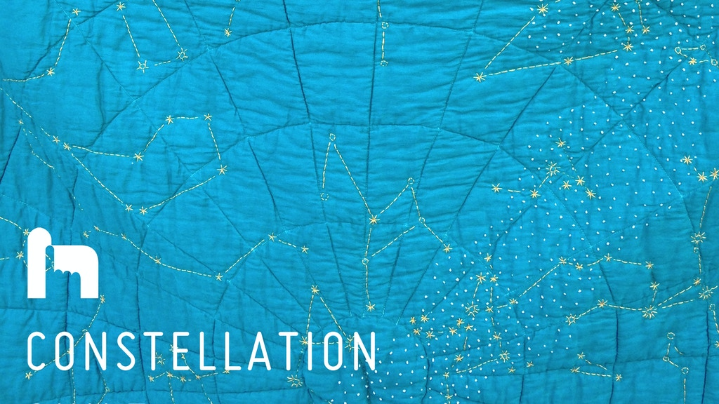 Constellation Quilt project video thumbnail