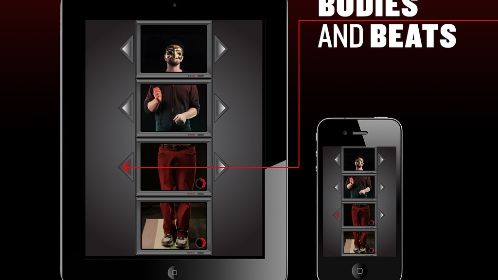 Bodies and Beats - iOS App for iPhone & iPad project video thumbnail