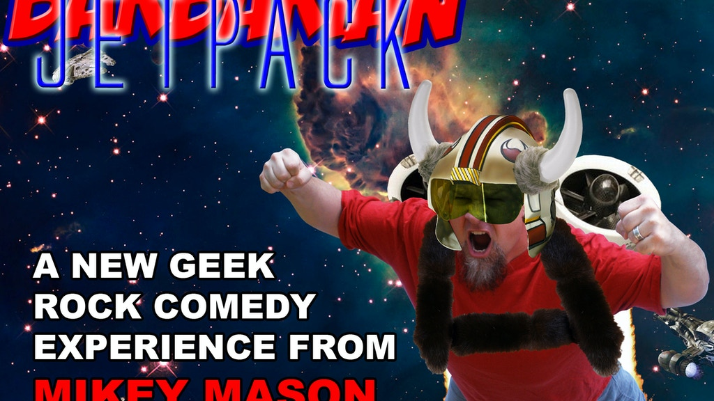 Mikey Mason's next geek rock album: Barbarian Jetpack project video thumbnail