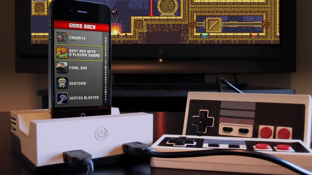 GameDock for iPhone, iPad, and iPod Devices project video thumbnail