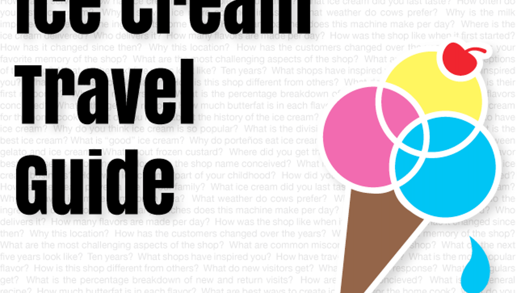 Ice Cream Travel Guide project video thumbnail