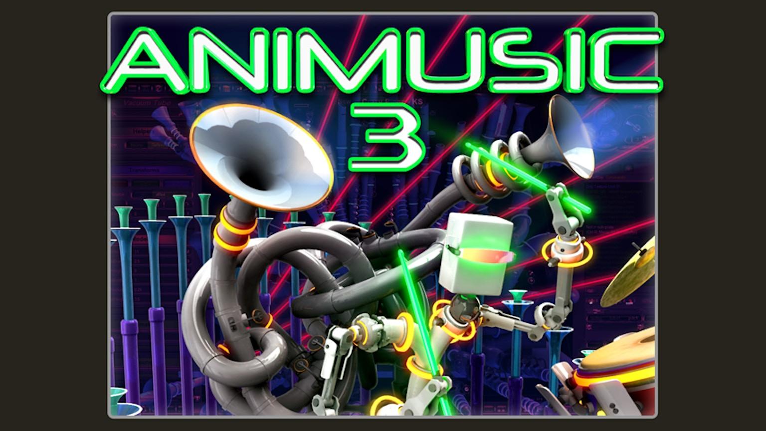 ANIMUSIC 3 (DVD / Blu-ray) by ANIMUSIC —Kickstarter