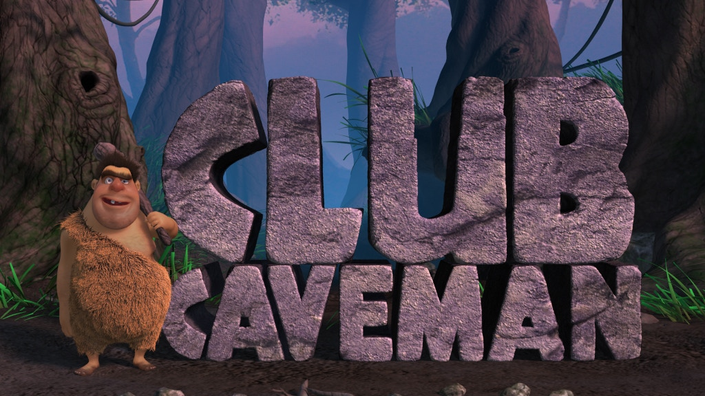 Club Caveman: movie-quality animation in an app project video thumbnail